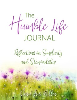 The Humble Life Journal cover large subtitle